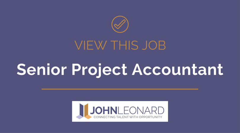 Senior Project Accountant 25834 – Project Accountant