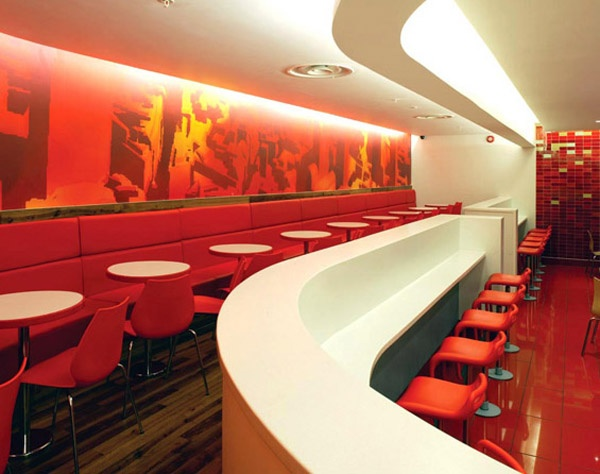 New McDonald's restaurant design