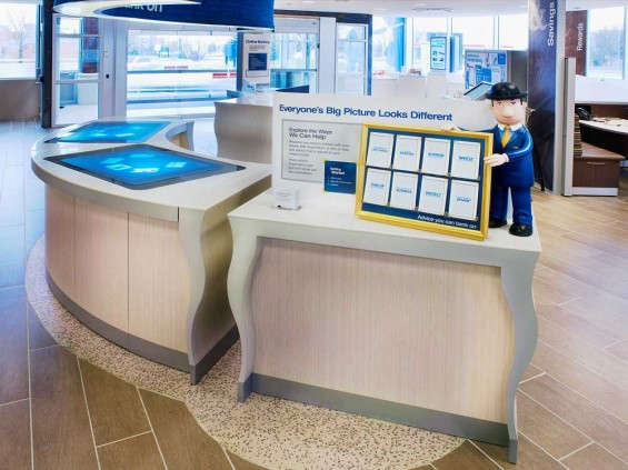 RBC branch Surface screens