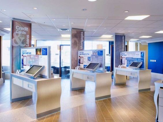 RBC touchscreen stations