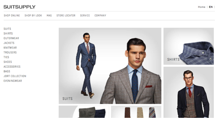 shop for men clothes online