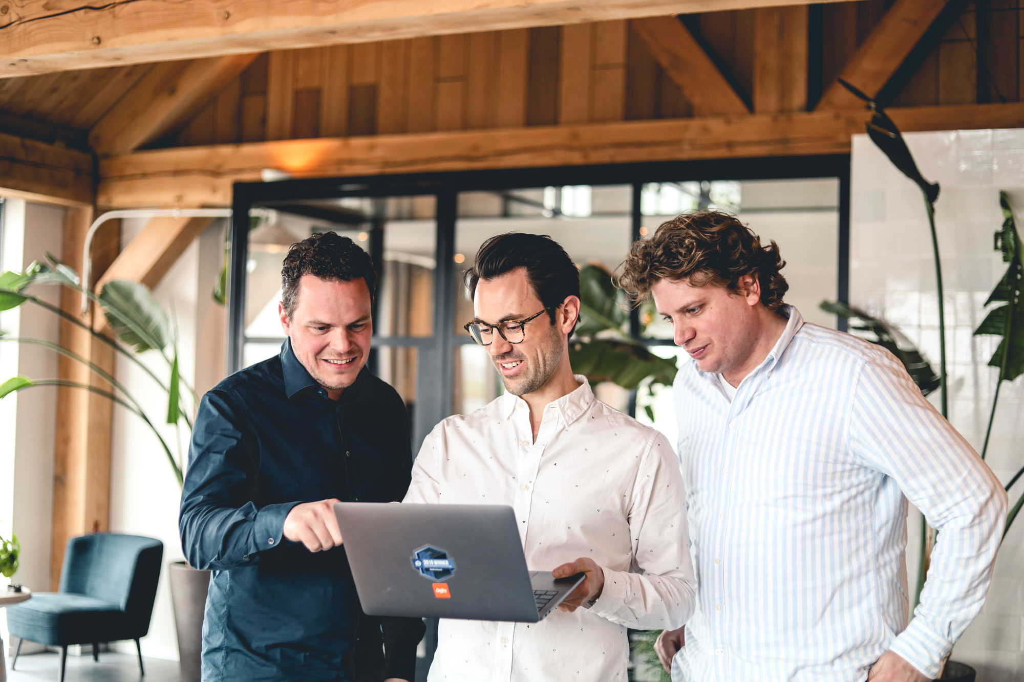 Co-Founders Oaky