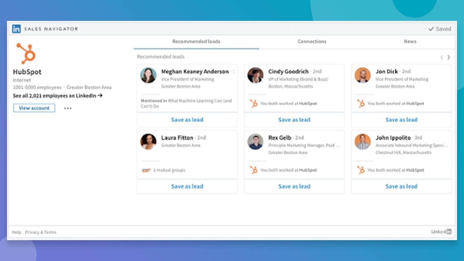 LinkedIn Sales Navigator | HubSpot App Marketplace