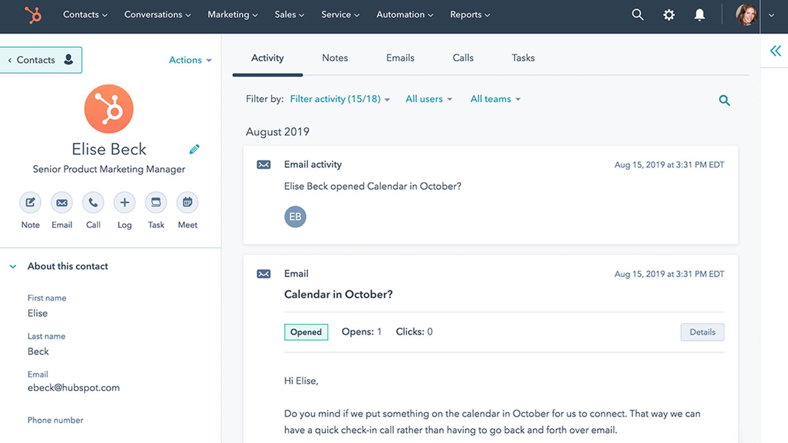 Gmail   HubSpot App Marketplace