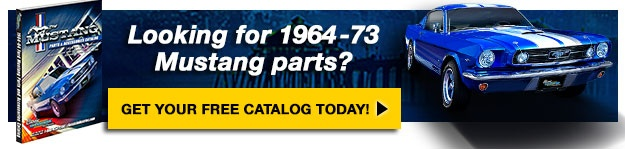 Order your Mustang catalog today.