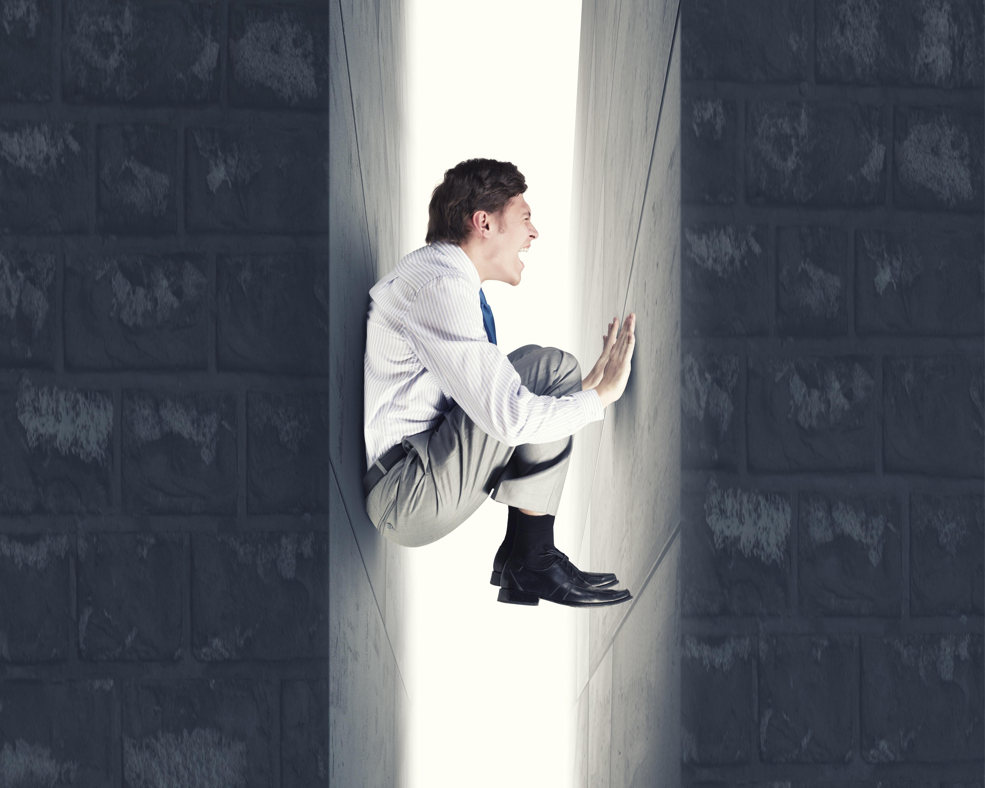 claustrophobia - most common phobias