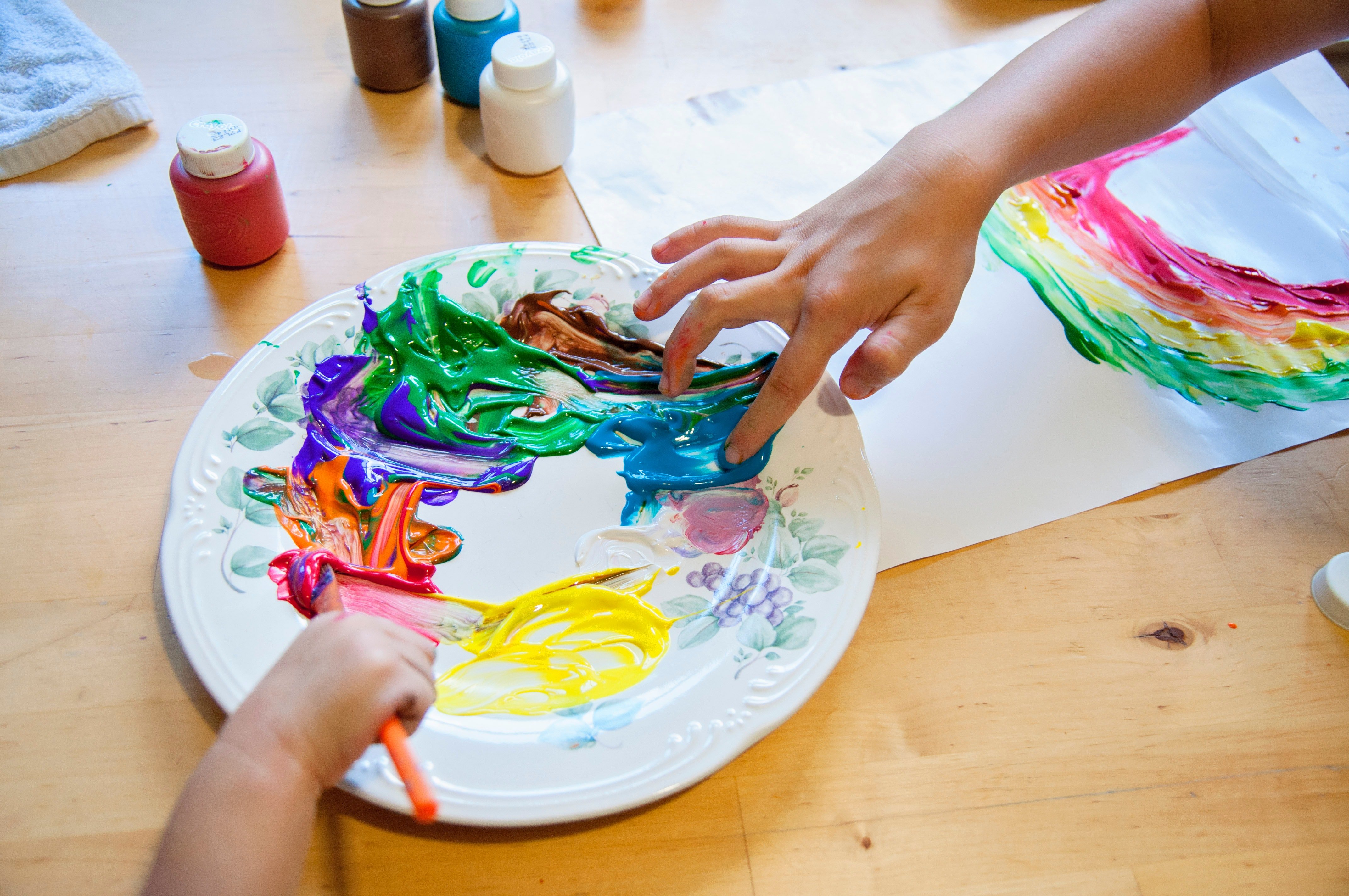 Health Benefits of Arts and Crafts for Kids