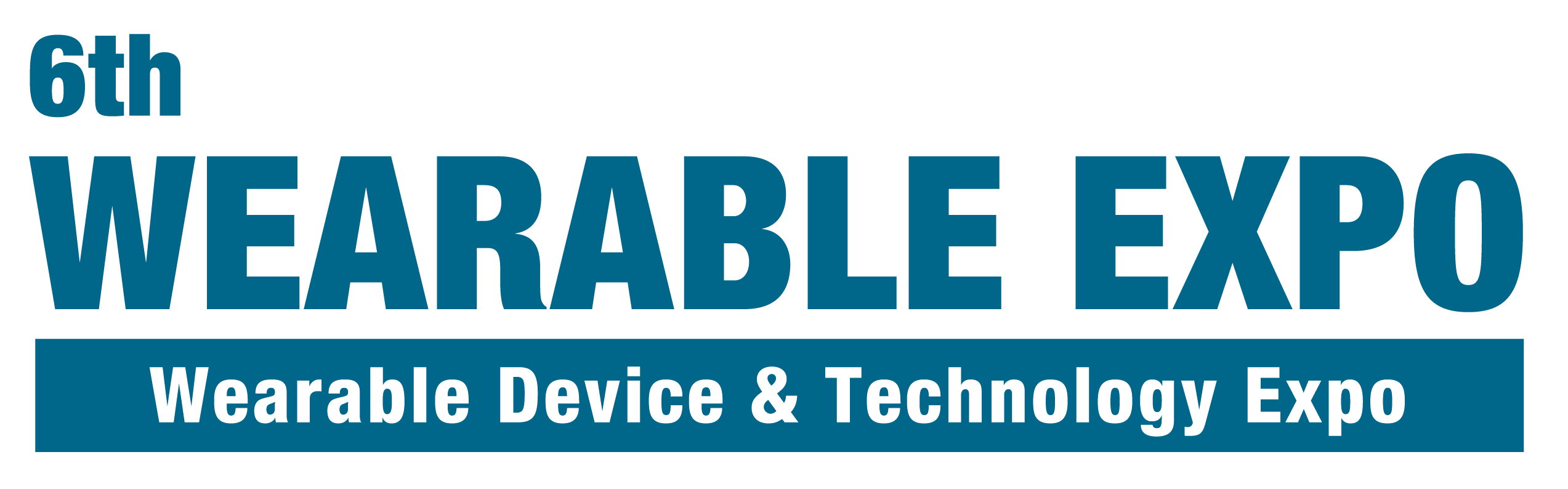 6th WEARABLE EXPO - Wearable Device & Technology Expo logo