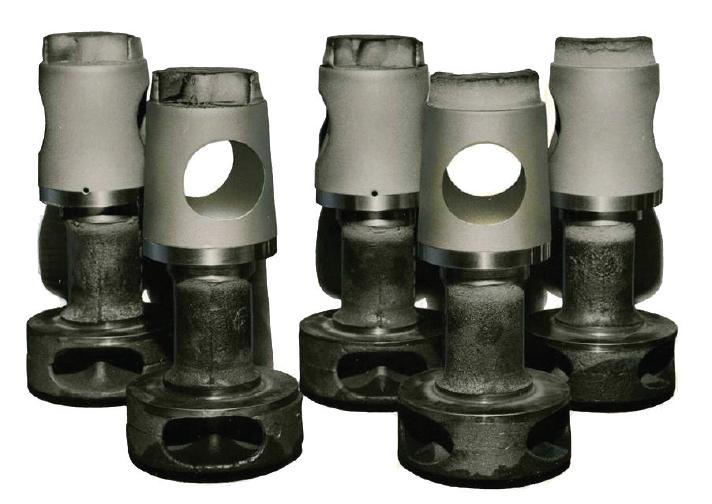 Sprayweld Process for Plug Valves & Bodies