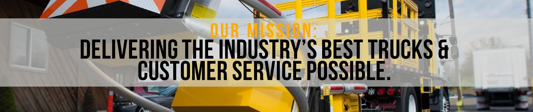Royal Truck and Equipment Mission Statement