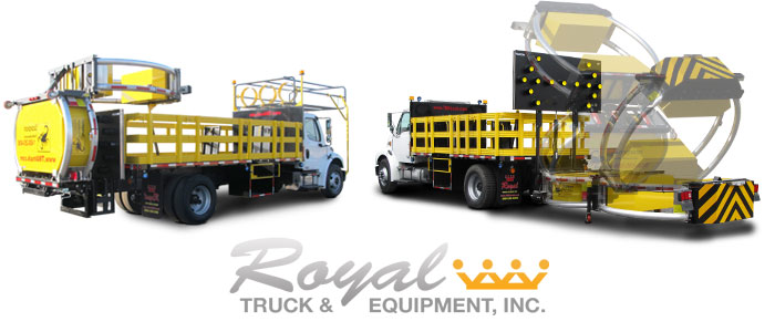 Royal TMA Truck Who Stands Behind the Truck You Stand in front of