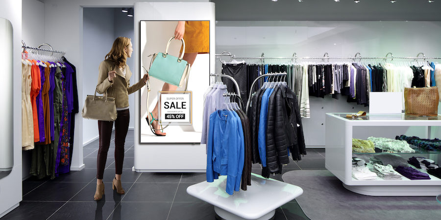 6 ways of how digital signage can lead to more turnover for retail  businesses