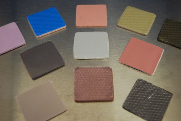 Western Rubber & Supply, Inc. will die-cut thermal management rubber to your exact configuration.