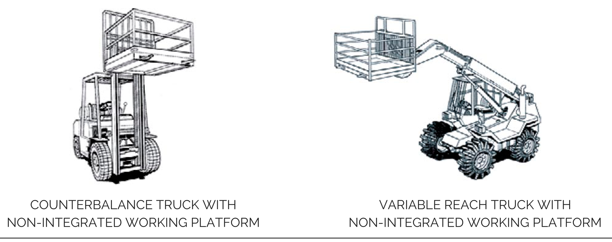 How to use forklift cages safely?