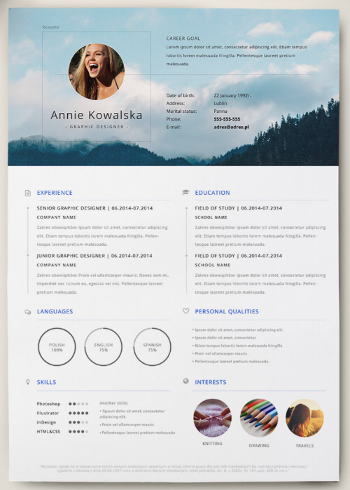 The 17 best resume templates for every type of professional monochromatic and retro resume template altavistaventures Gallery