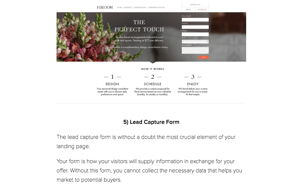 How to Design and Optimize Landing Pages
