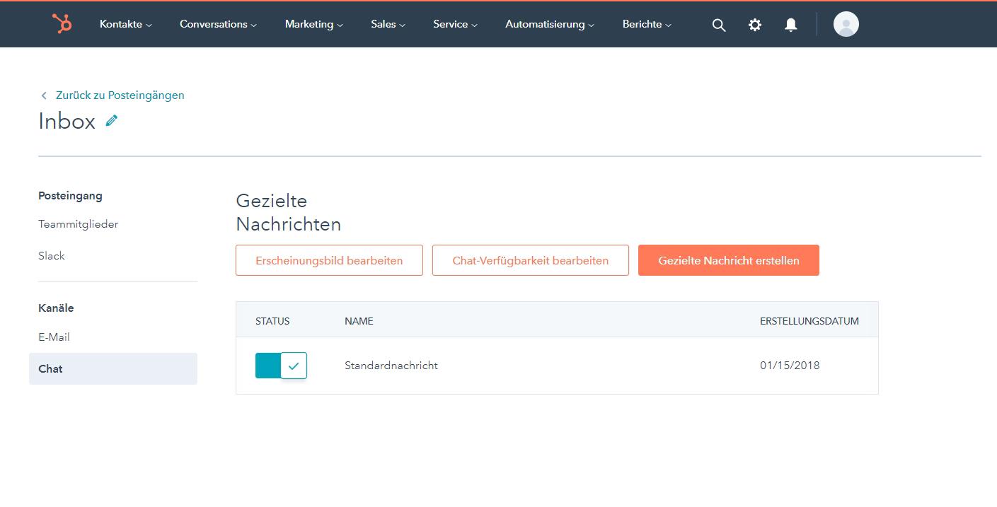 Kostenlose Live-Chat-Software   HubSpot