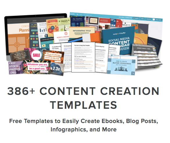 templates for creating content