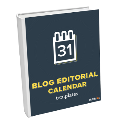 Blog Editorial Calendar Templates