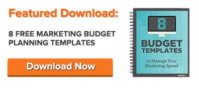 How to Manage Your Entire Marketing Budget Free Budget Planner – Marketing Budget Template