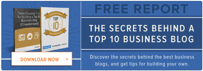 free report: secrets behind top business blogs