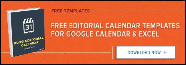 How to Create an Editorial Calendar Using Google Calendar [Free ...