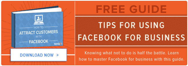 download our free facebook tips guide