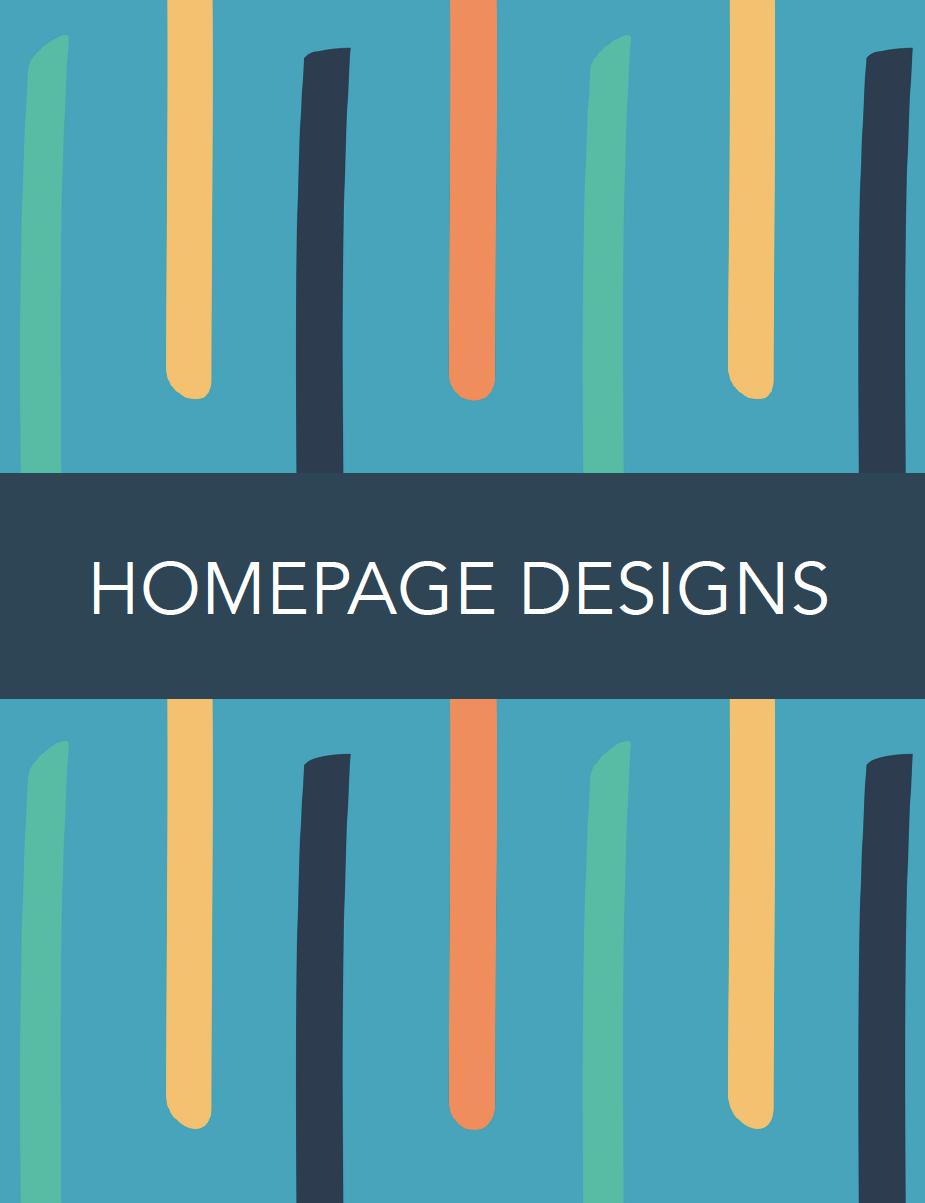 Website Homepage Inspiration