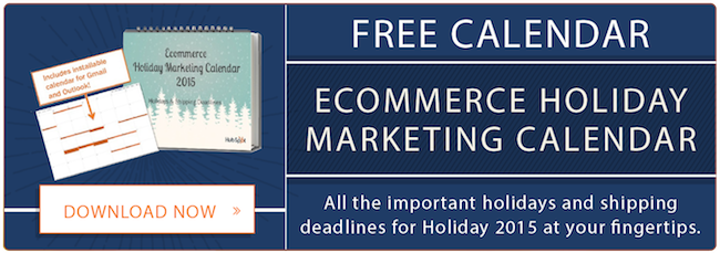 Ecommerce Holiday Marketing Calendar Free Download