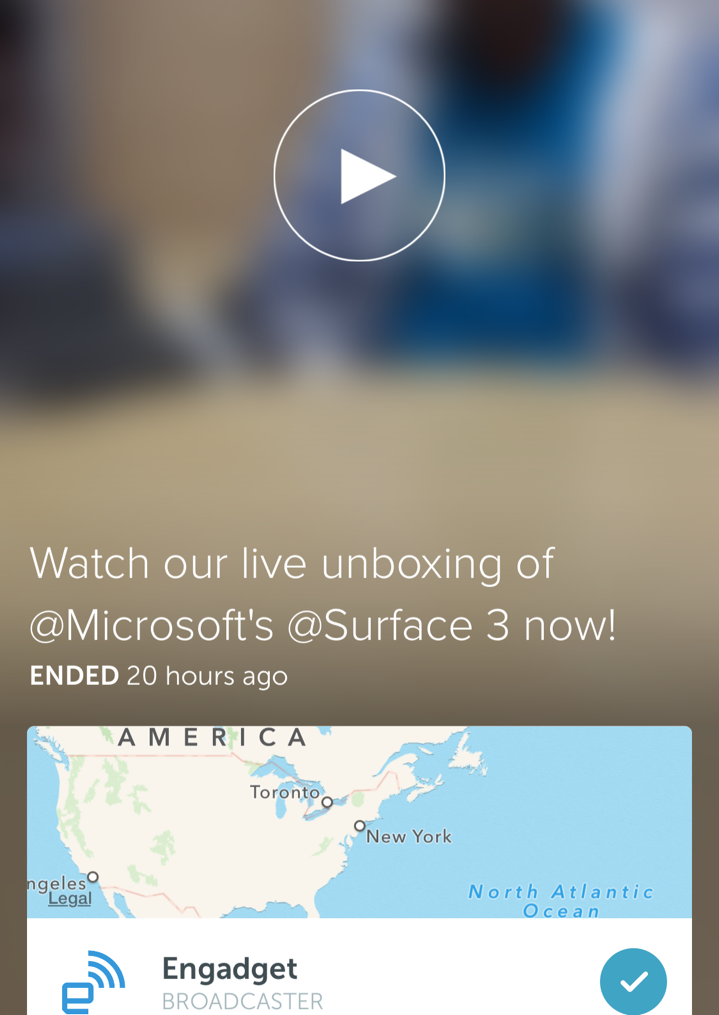 Engadget Periscope