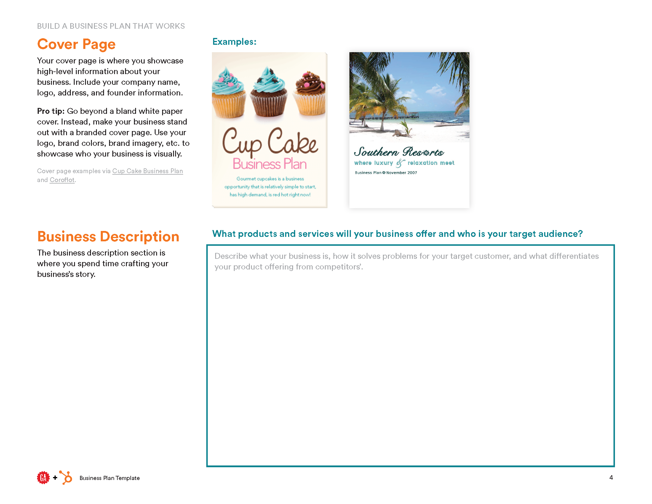 Business plan template hubspot general assembly business plan template preview cheaphphosting