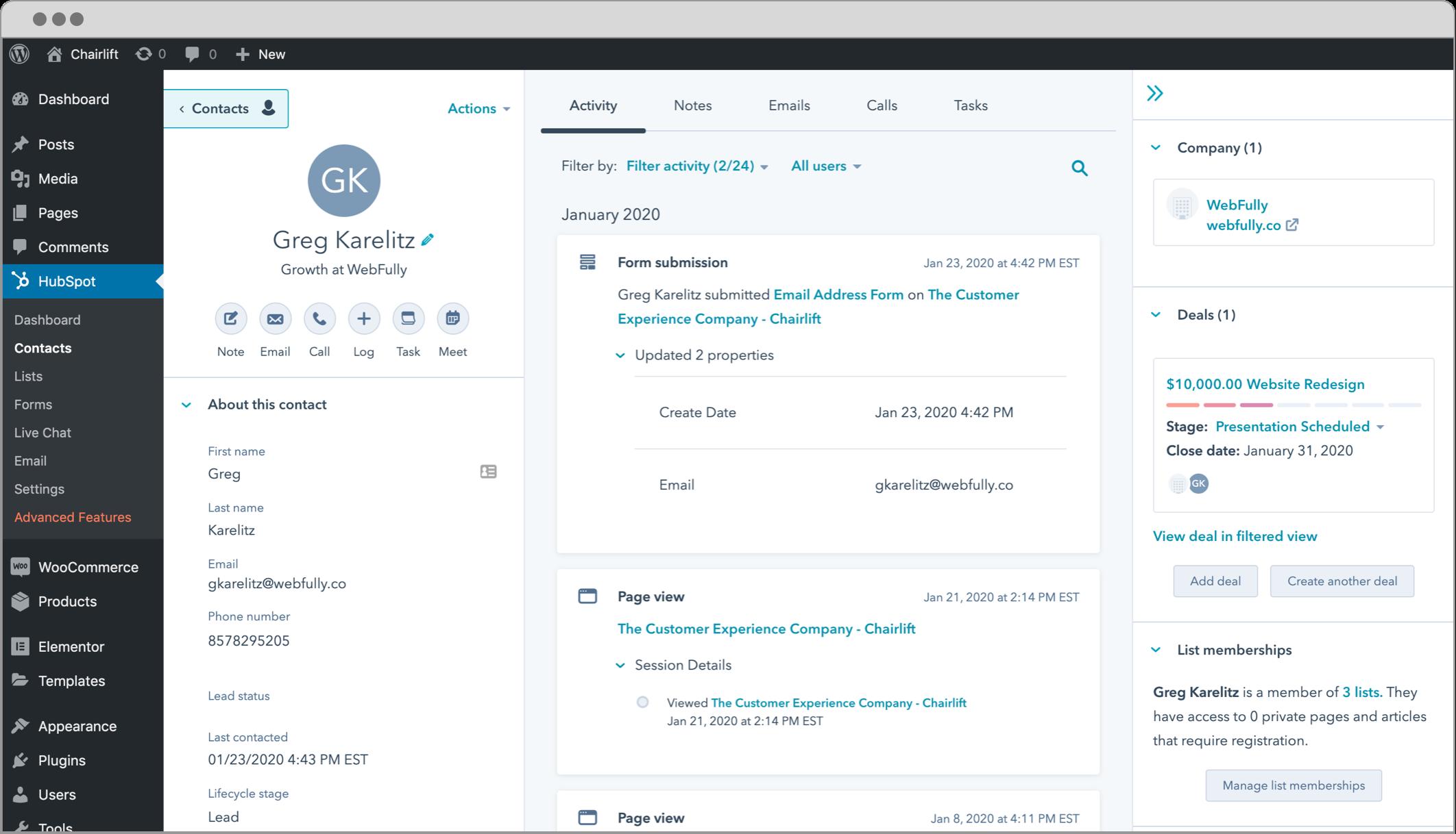 WordPress Plugins For Email marketing