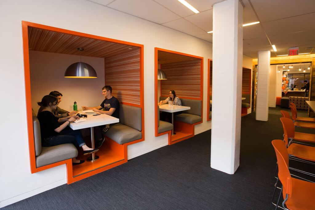 Home sweet home hubspot renews lease for global for Office design cambridge
