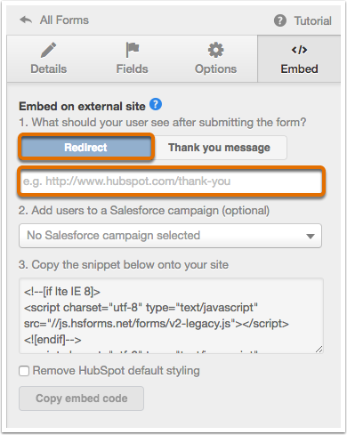 How to replace an existing form with a HubSpot form on your ...