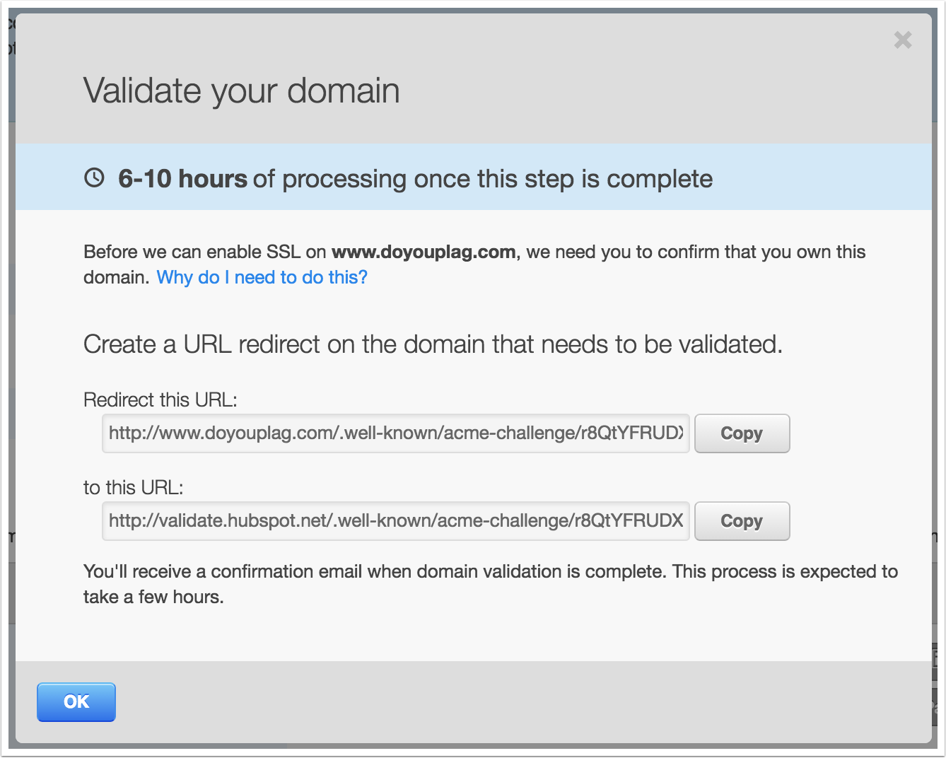 Why do i need to verify my domain ownership to enable ssl xflitez Choice Image