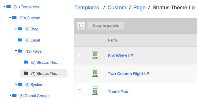 Überblick über grundlegende Designvorlagen