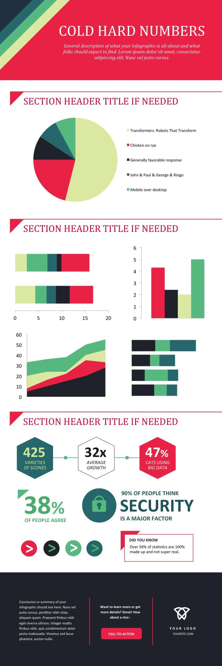 info graphic template