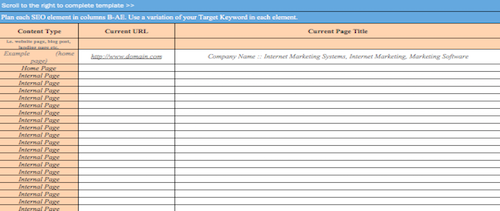 On-Page SEO Template Peek 3