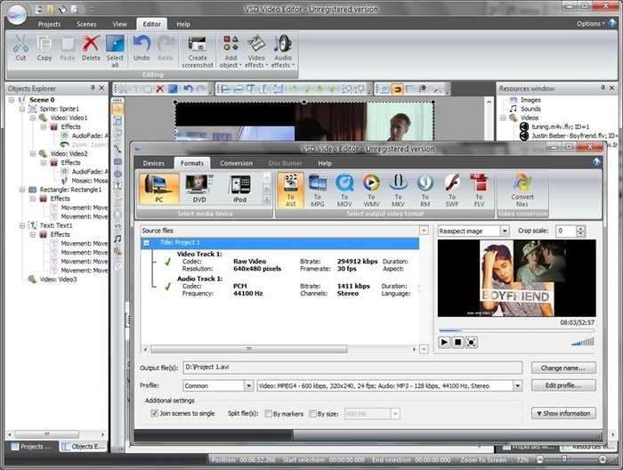 free pictures to video software