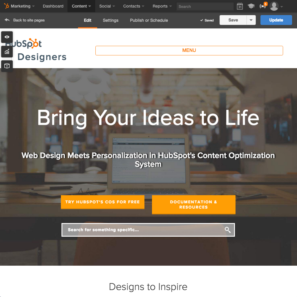 HubSpot Website Platform - Build an Easy to Use Website that Works