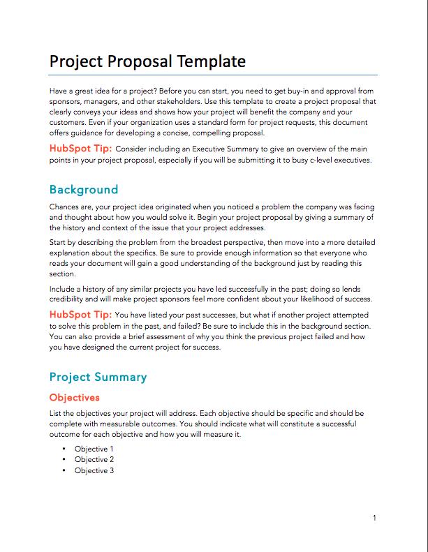 Proposal Template Golon Wpart Co