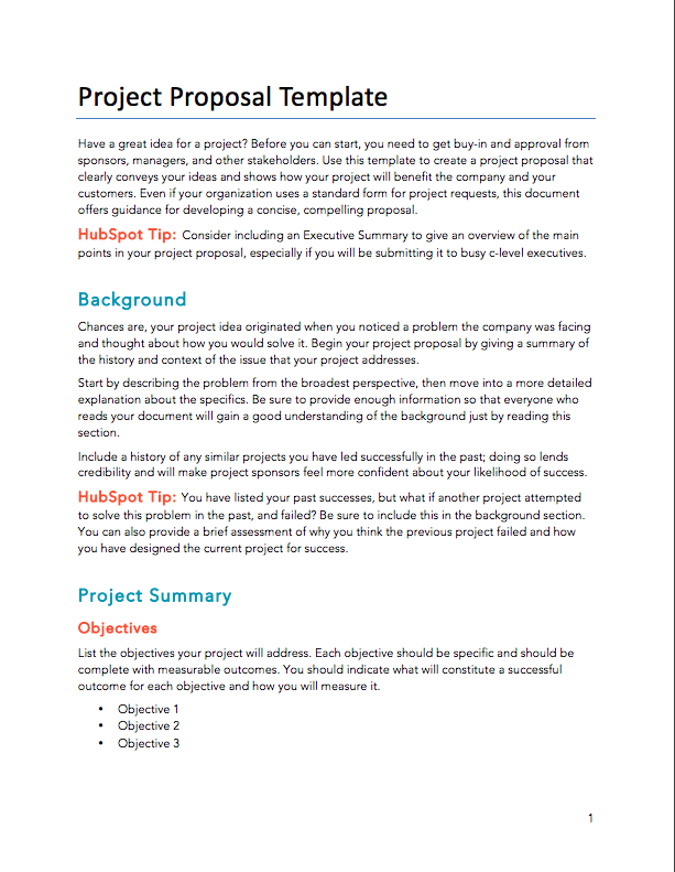 free proposals  estimates  quotes pdf  u0026 word template