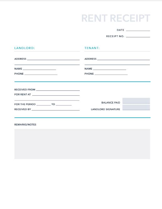 free invoices  receipts pdf  u0026 excel template