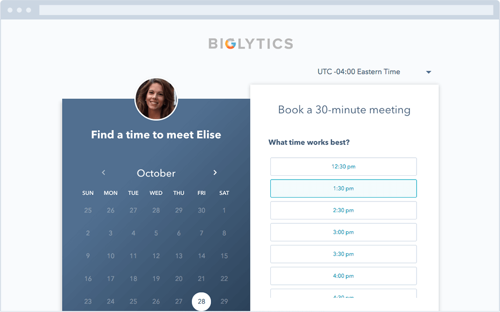 Eliminate The Back And Forth Of Meeting Scheduling.  Meeting Scheduler Template