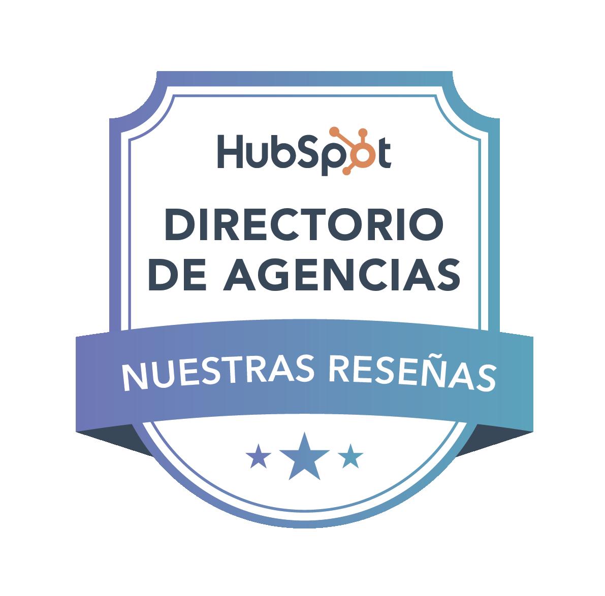 Lea nuestras reseñas en el directorio de agencias de HubSpot.
