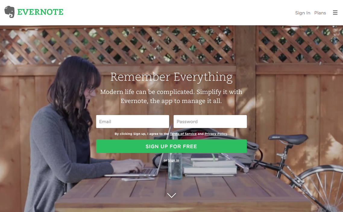 Evernote Homepage Design.png