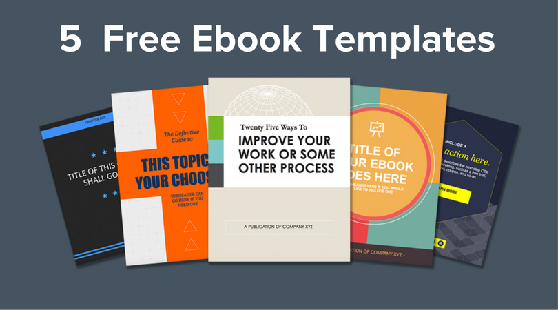 Free Download 5 Ebook Templates
