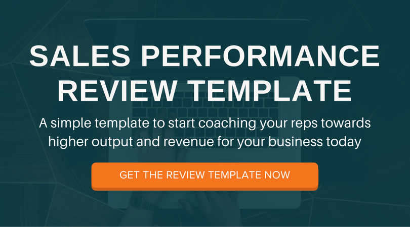 The Sales Managers Guide to Performance Reviews Free Template – Business Review Template
