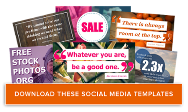 The ultimate collection of free content marketing templates download free social media graphics templates pronofoot35fo Gallery