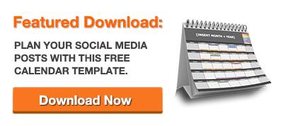The Social Media Content Calendar Template Every Marketer Needs - Hubspot content calendar template